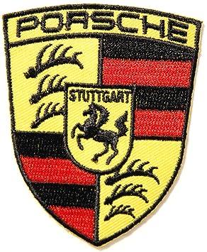 Porsche Racing Car Logo Jacket T Shirt Patch Sew Iron On