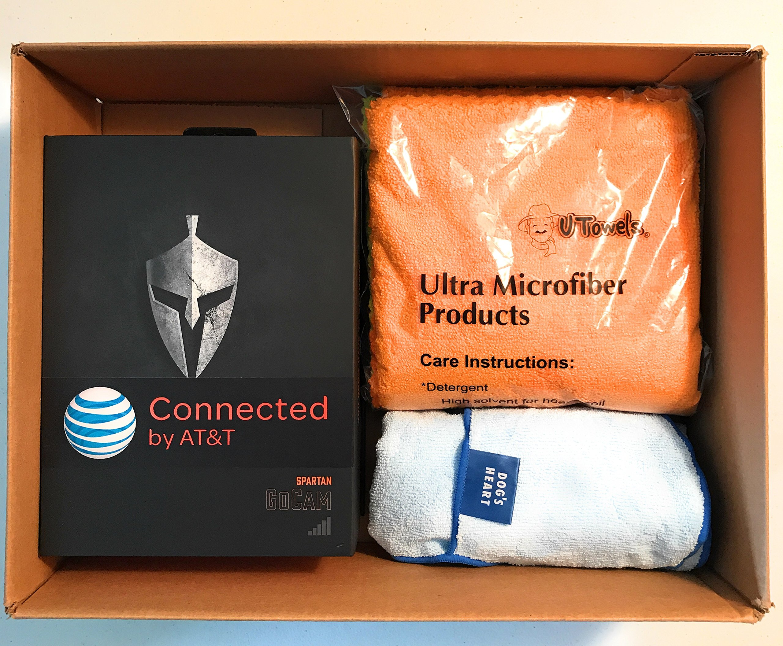Spartan HD GoCam (AT&T Version, Model#GC-ATTxb, Blackout Infrared) 3G Wireless UTowel Bundle DEAL Bundled with UTowels Edgeless Microfiber Towels by Spartan (Image #2)