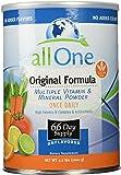 All One Powder Multiple Vitamins & Minerals, Original Formula, 2.2-Pound Can