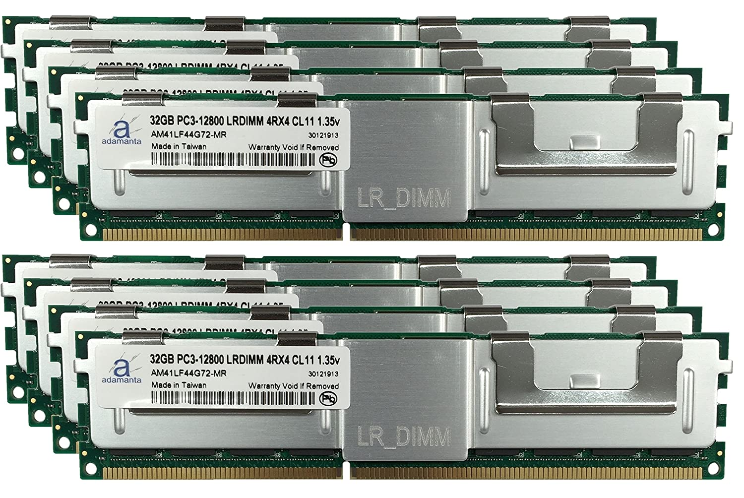Adamanta 256GB (8x32GB) LRDIMM Memory Upgrade for Dell