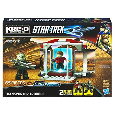 KRE-O Star Trek Transporter Trouble Construction Set (A3140): Toys & Games