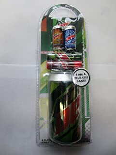GBG Beauty Mountain Dew Bank Can and 4 Lip Balms