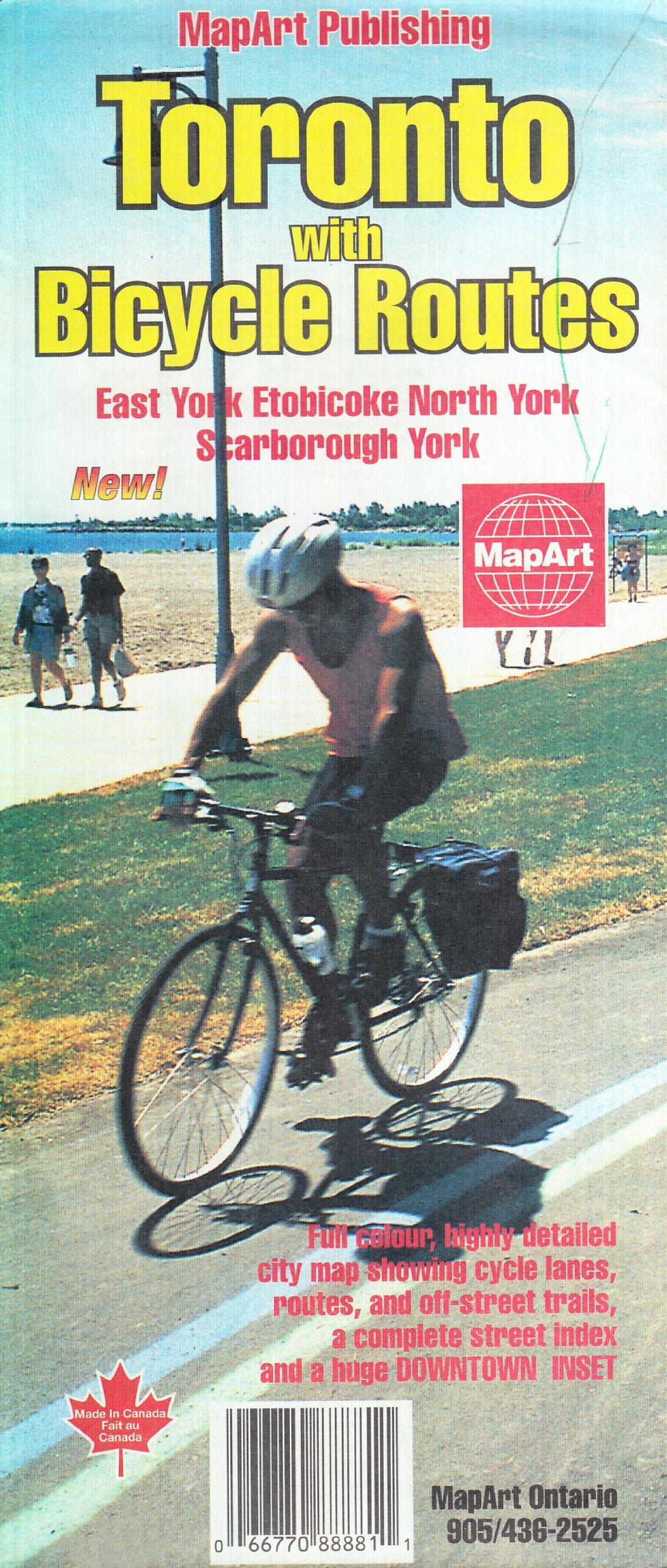 Toronto Bicycle Map
