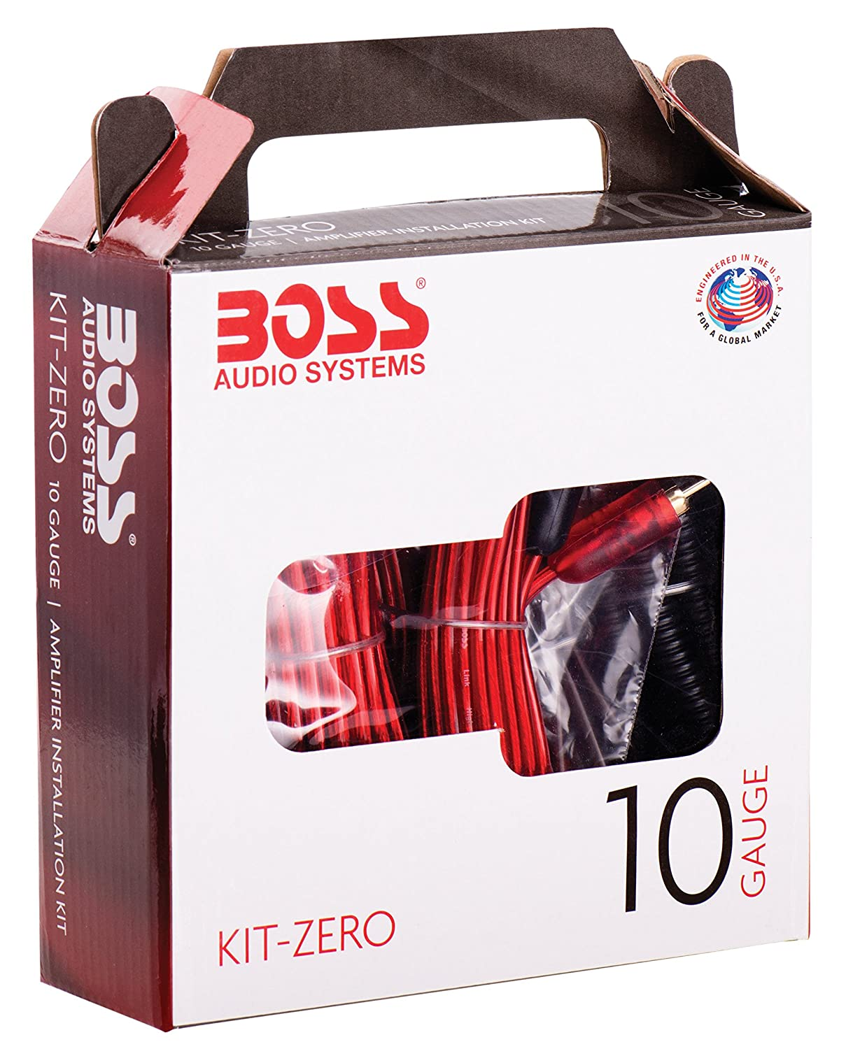 Amp Wiring Kit Boss Audio Zero 10 Gauge Rockford Fosgate Rfk1 Uk Car Incar Entertainment Installation Electronics