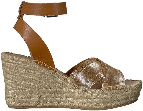 f2954409bb Donald J Pliner Women's INES Espadrille Wedge Sandal: Amazon.co.uk: Shoes &  Bags