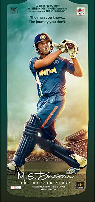 the M S  Dhoni - The Untold Story full movie with english