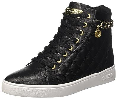 Gerta2, Sneakers Hautes Femme, Noir (Nero), 35 EUGuess