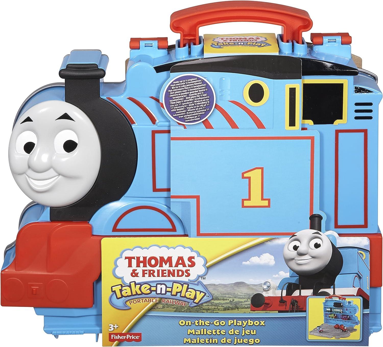 Thomas and Friends - Maletín y Pista para locomotor Fisher-Price (Mattel CDN10)