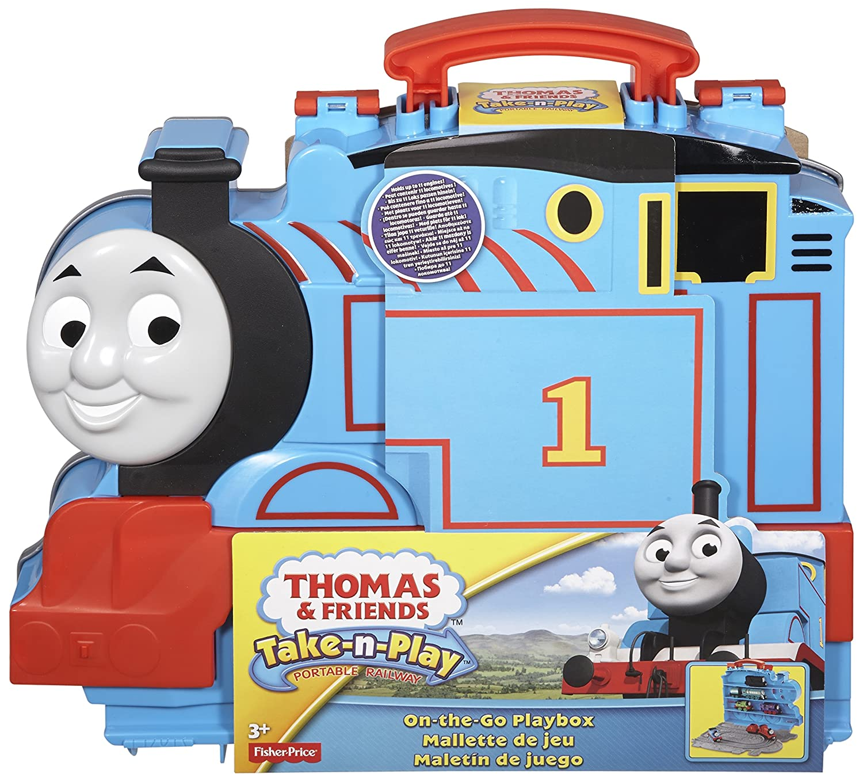 Fisher Price - Thomas le Train - Thomas The Train Take-n-Play On-the-Go Playbox CDN10