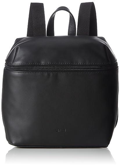 Vora 4, Black, Backpack M, Womens Bag, Schwarz (Black), 12x27x23 cm (B x H T) Bree