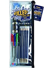 Helix Oxford Complete Stationery Set in 13.5 inch Pencil Case
