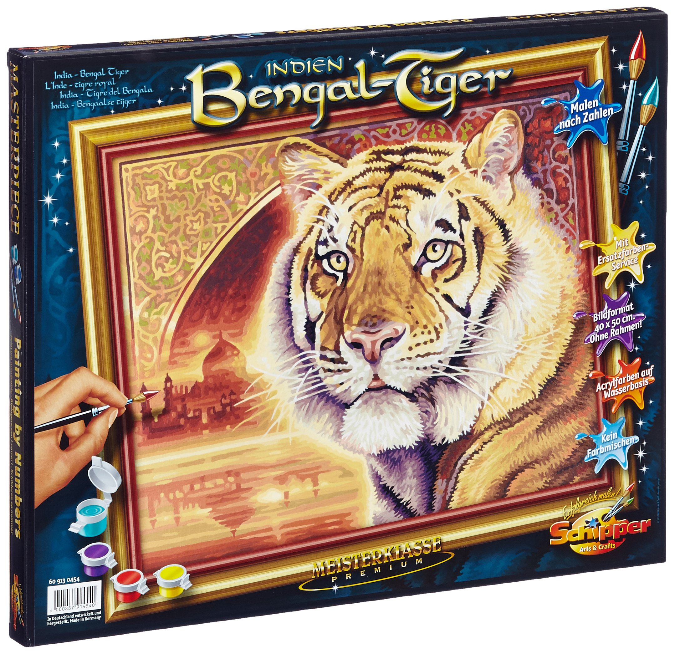 NORRIS Bengal Tiger-India Paint by Number