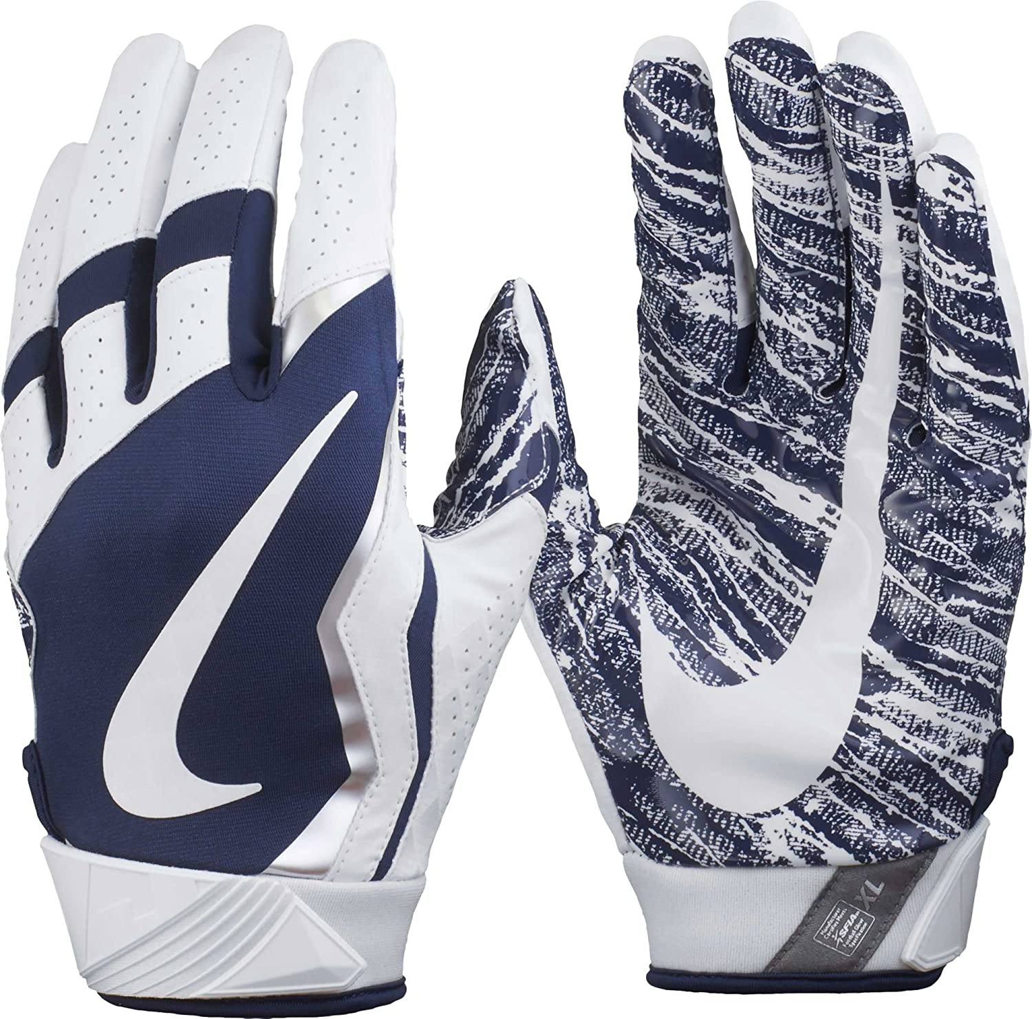 Amazon.com  Men s Nike Vapor Jet 4 Football Gloves  Sports   Outdoors c69b8f8f9