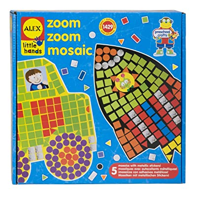 ALEX Toys Little Hands Zoom Zoom Mosaic: Toys & Games