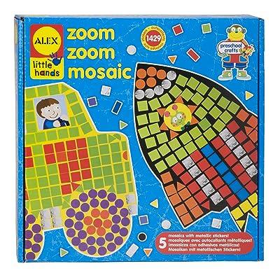 ALEX Toys Little Hands Zoom Zoom Mosaic: Toys & Games [5Bkhe1005132]