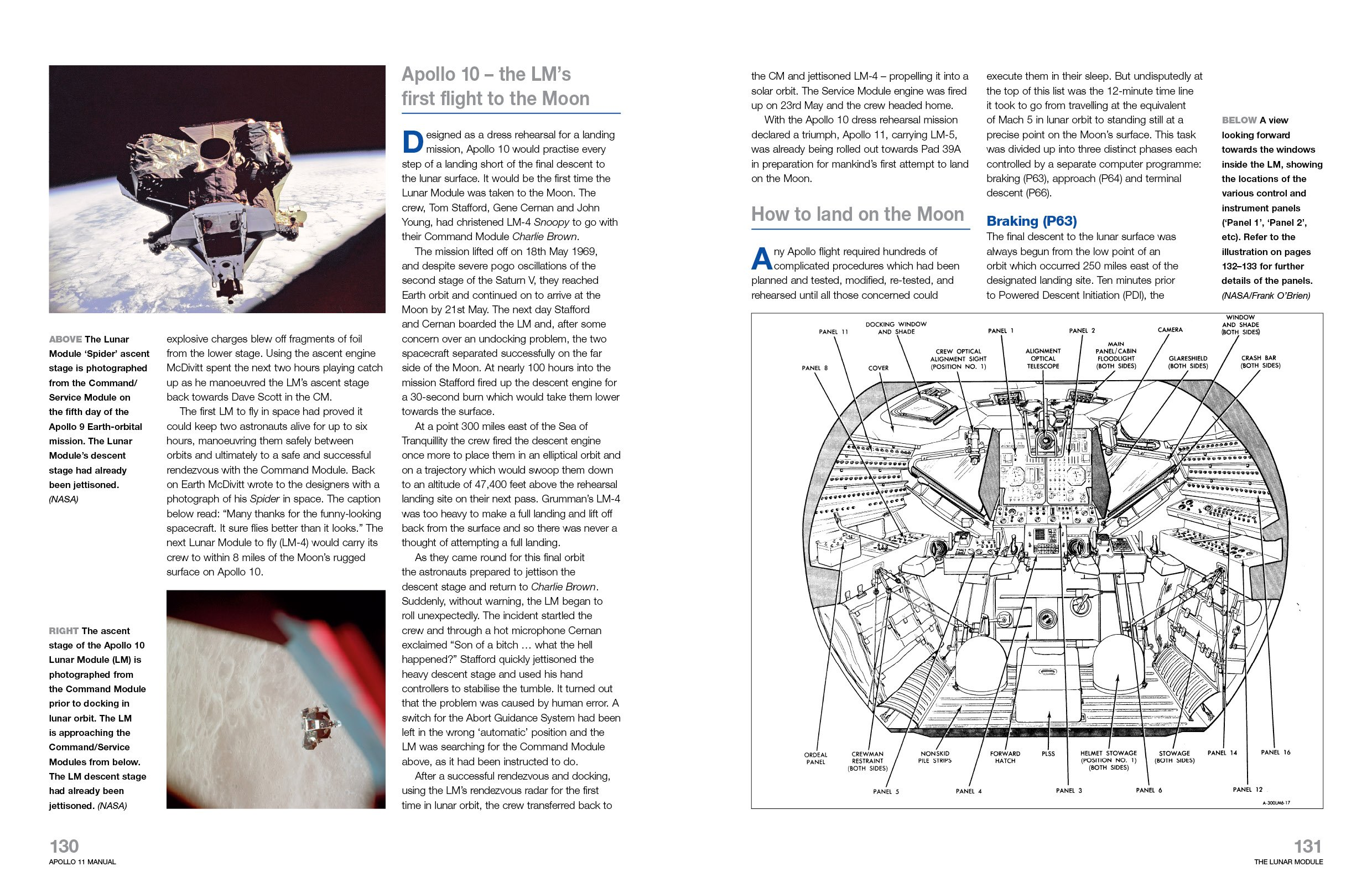 Apollo 11 Manual: An Insight into the Hardware from the First Manned  Mission to Land on the Moon: Amazon.co.uk: Christopher Riley, Phil Dolling:  ...