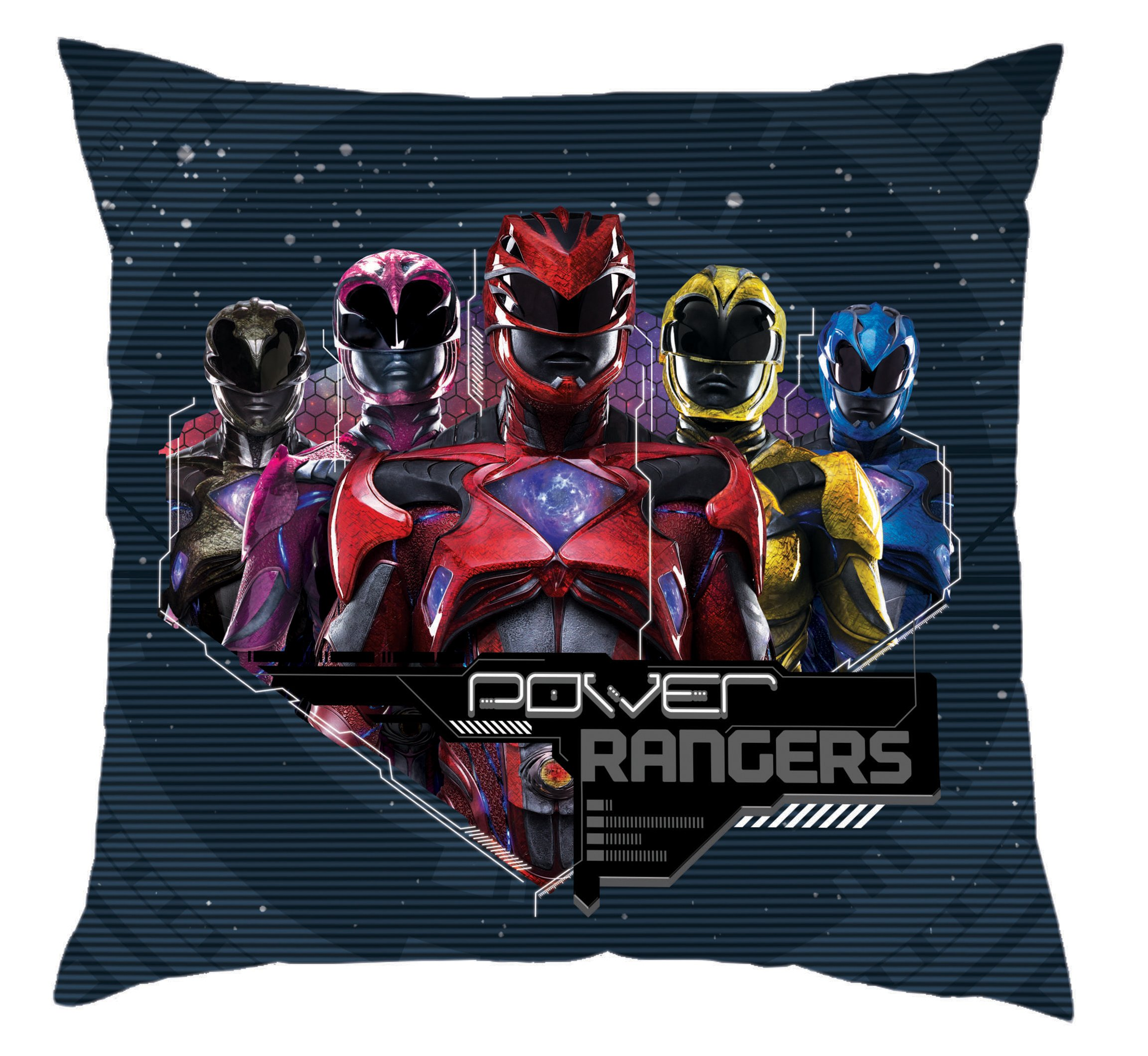 Power Rangers Movie Cushion, Multicolour