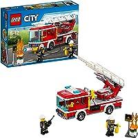 Lego City 60107 - Le Camion de Pompiers avec échelle - Jeu de Construction