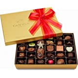Godiva Chocolatier Gold Ballotin Assorted Gourmet Chocolates 36 Piece Gift Box, Great for Gifting