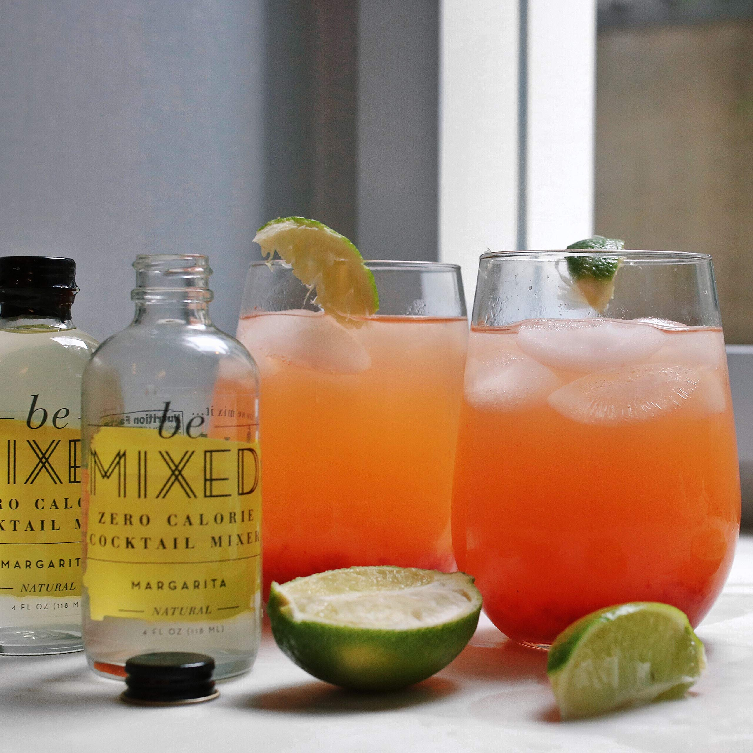 Zero Calorie Margarita Cocktail Mixer by Be Mixed | Low Carb, Keto Friendly, Sugar Free and Gluten Free Drink Mix | 4 oz Glass Bottles, 12 Count by Be Mixed (Image #5)