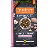 Nature's Variety Instinct Raw Boost Grain Free Recipe Natural Dry Dog Food Toy Breed Chicken