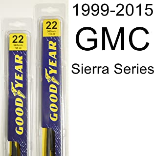 """product image for GMC Sierra Series (1999-2015) Wiper Blade Kit - Set Includes 22"""" (Driver Side), 22"""" (Passenger Side) (2 Blades Total)"""