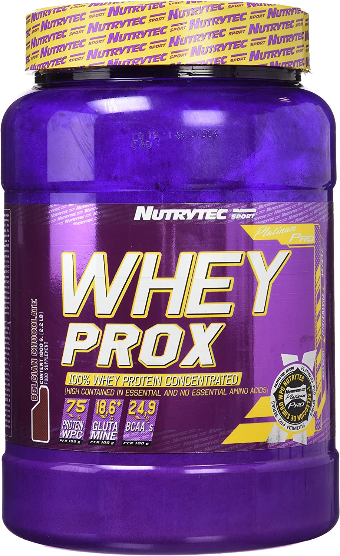 Nutrytec Whey Prox Platinum, Sabor a Chocolate - 1000 gr ...