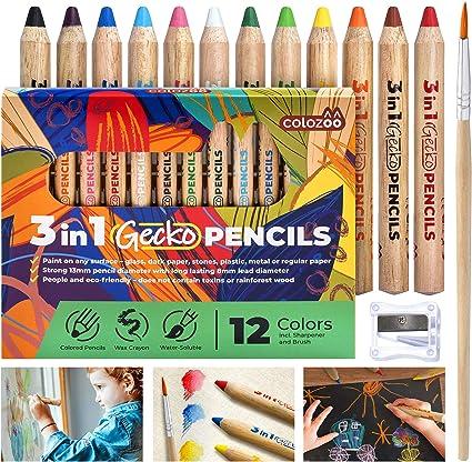 """1 Nouveau géant en bois Crayon 14/"""" très gros Jumbo bois école crayons Cadeau Mode"""