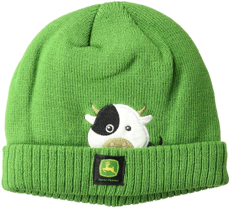 John Deere Boys' Toddler Winter Cap, Green J2H160GT