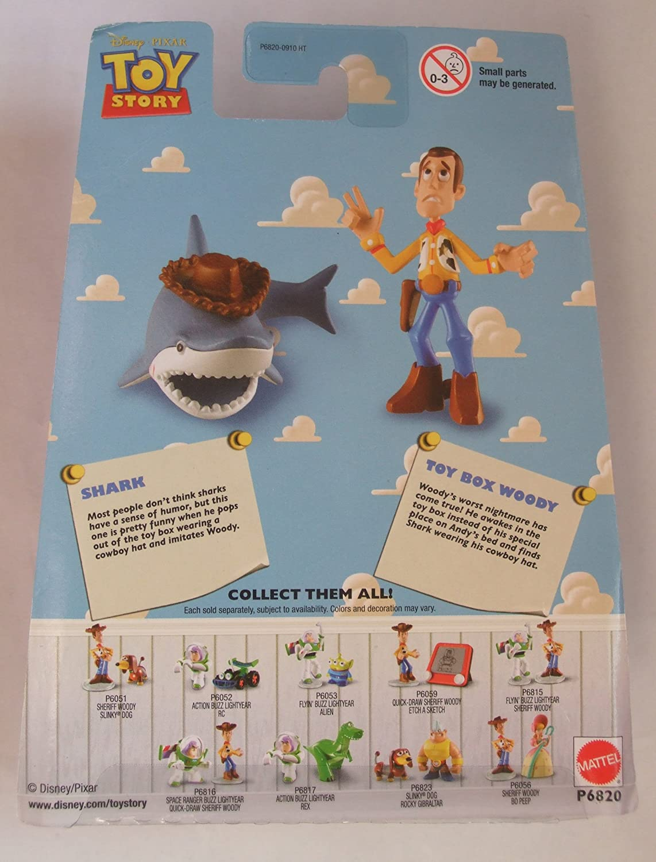 Disney Pixar Toy Story Mini Figure Buddy Pack Sheriff Woody and Slinky Dog Mattel P6051