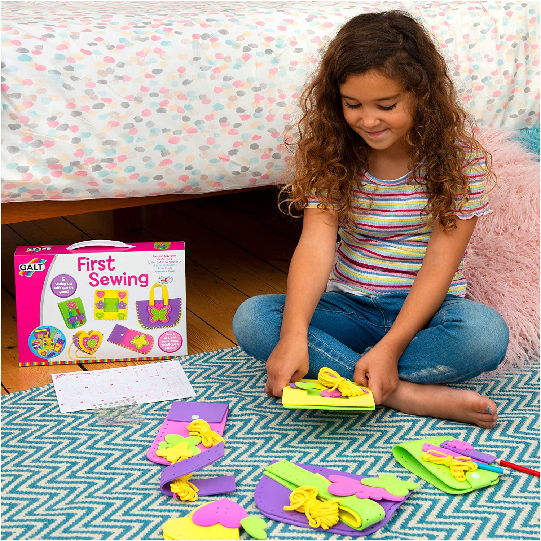 UK Seller Kid Craft Activity Kit Boy Girl First Lacing Pictures Galt