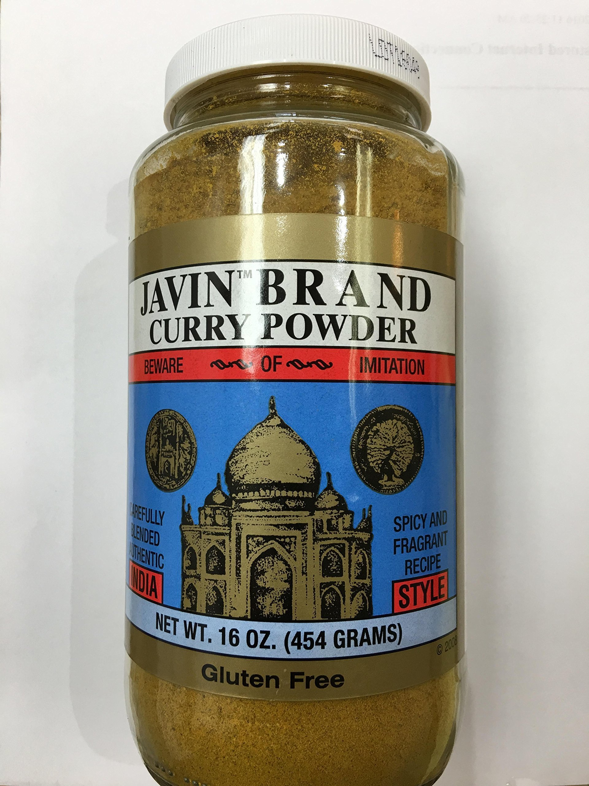 Authentic INDIA Javin brand curry powder One Pound Gluten Free