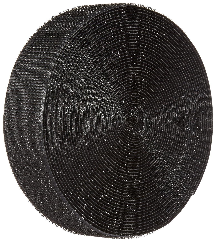 Hook Type 5 Length 3//4 Wide Standard Back VELCRO 1003-AP-PB//H Black Nylon Woven Fastening Tape