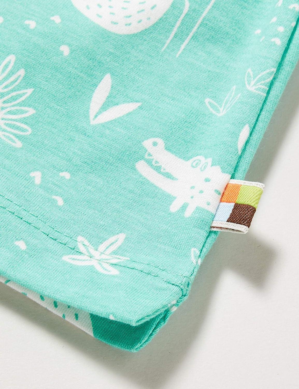 proud Baby Girls Shorts Allover Print Organic Cotton loud