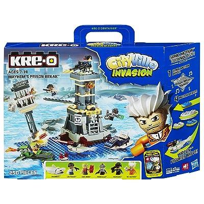 Hasbro Kre-O Cityville Mayhem's Prison Break Set: Toys & Games