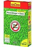 WOLF-Garten - Rasendünger plus Eisen - L-PM 100 für 100 m²