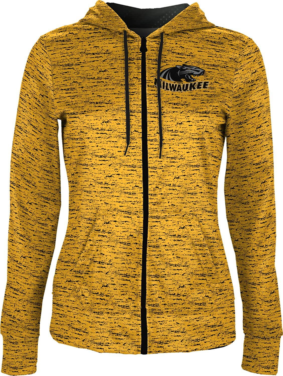 Brushed University of Wisconsin-Milwaukee Girls Zipper Hoodie School Spirit Sweatshirt