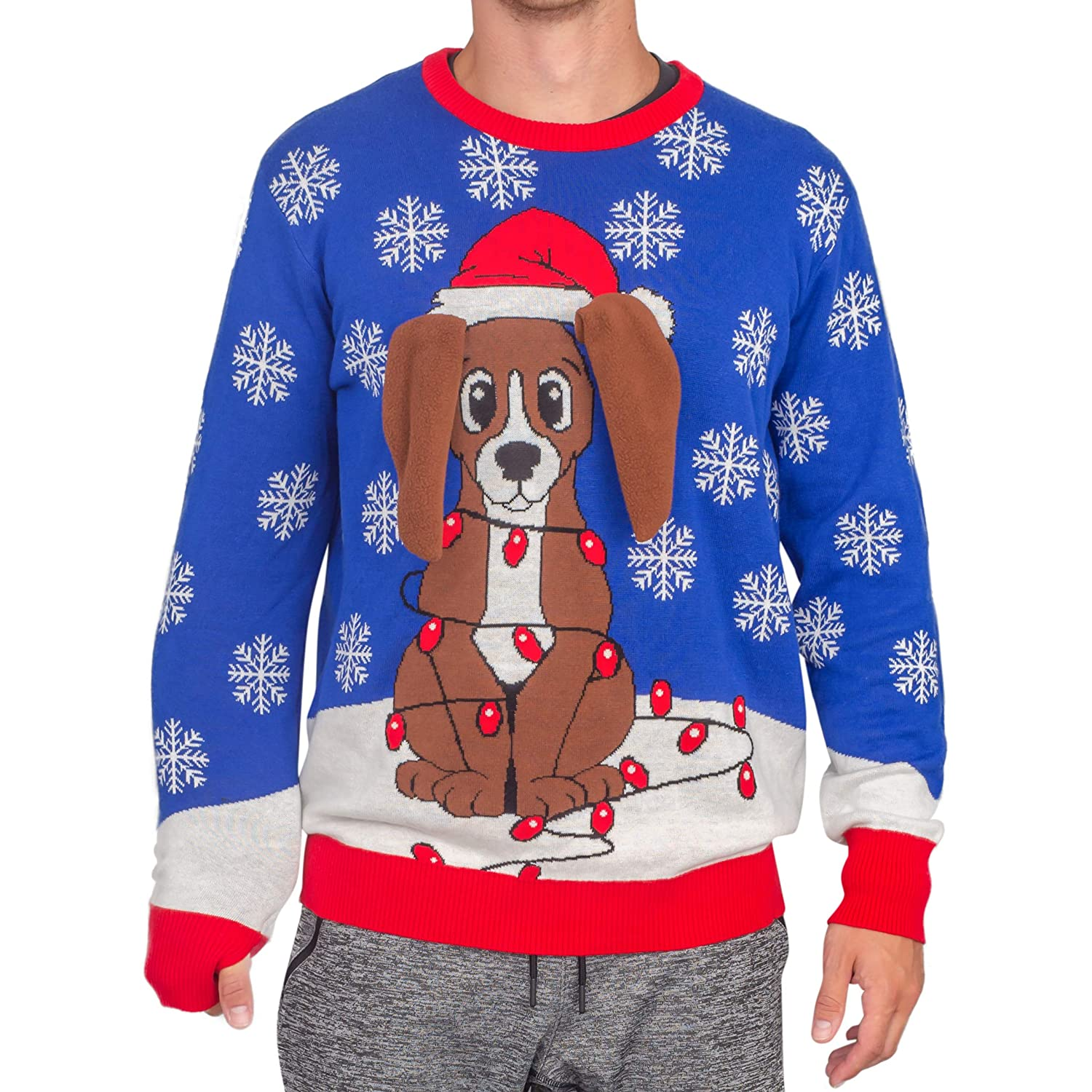 Flappy Animated Ugly Christmas Sweater