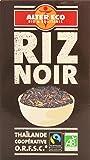 Alter Eco Riz Noir Bio et Equitable 500 g - Lot de 4