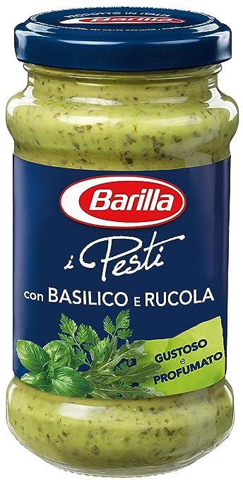 14 opinioni per Barilla- Pesto, con Basilico e Rucola, senza glutine- 190 g