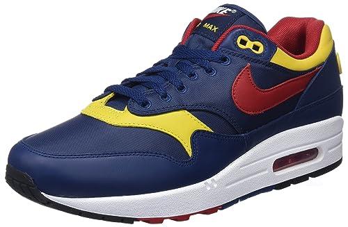 Nike Air Max 1 Premium Chaussures de Gymnastique Homme  Amazon.fr   Chaussures et Sacs 49e535b9b744