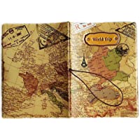 Sunliday - Funda de pasaporte Dorado dorado