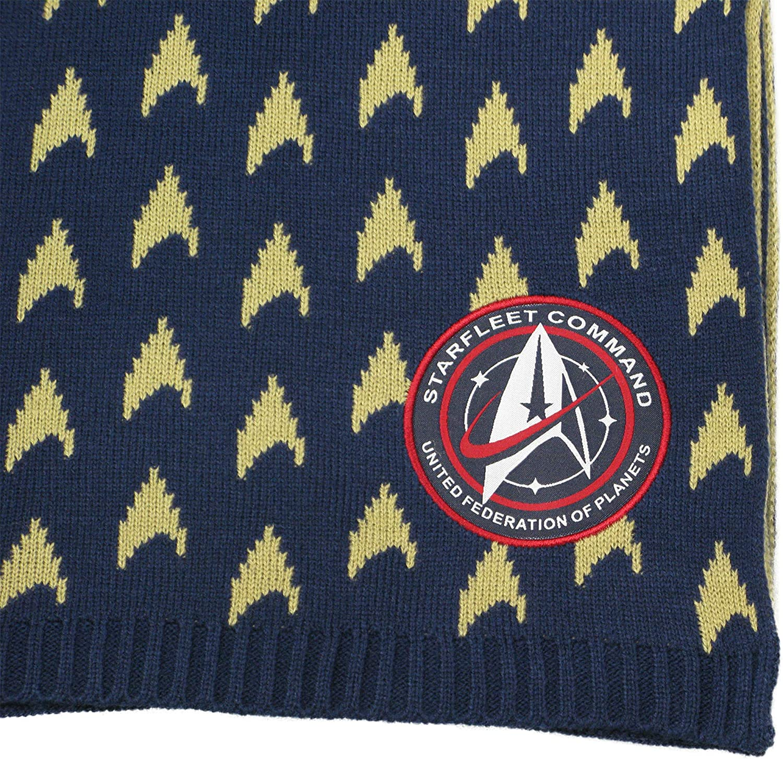 Discovery STAR TREK Bufanda de Academia de la Flota Estelar Merchandising oficial de LOVARZI