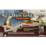 Cabelas Hunting Expeditions with Gun (Nintendo Wii)