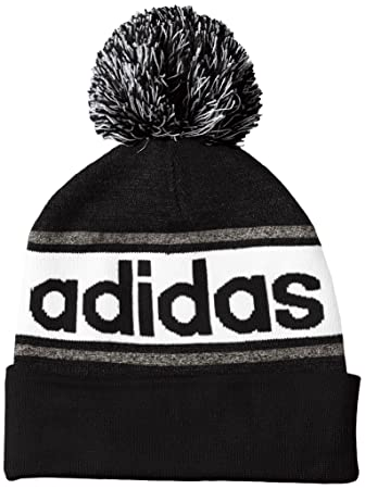 8e357cd3dce0f3 adidas Linear Woolie - Cap for men, Colour Black/Grey, Size OSFM ...