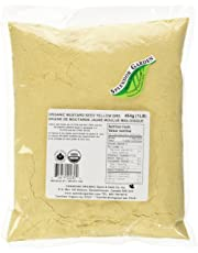 Splendor Garden organic Mustard Seed Yellow Grd,454.0 Gram