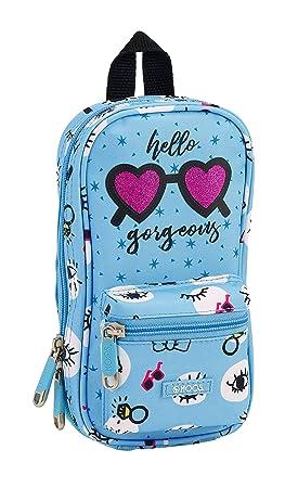 Moos 411830747 2018 Bolsa de Aseo, 23 cm, Azul: Amazon.es ...