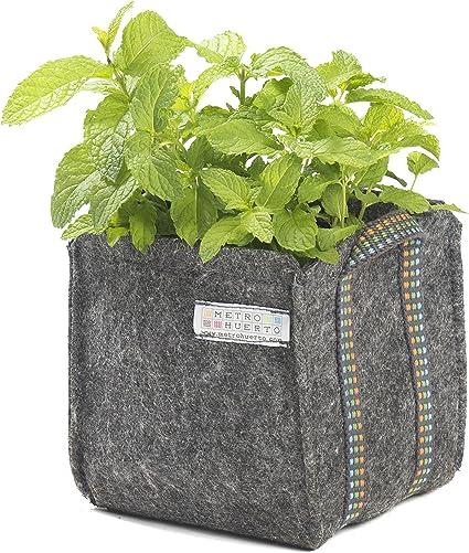 Saco Mini Mh (15x15x15cm) para cultivo + Manual Agricultura Urbana ...