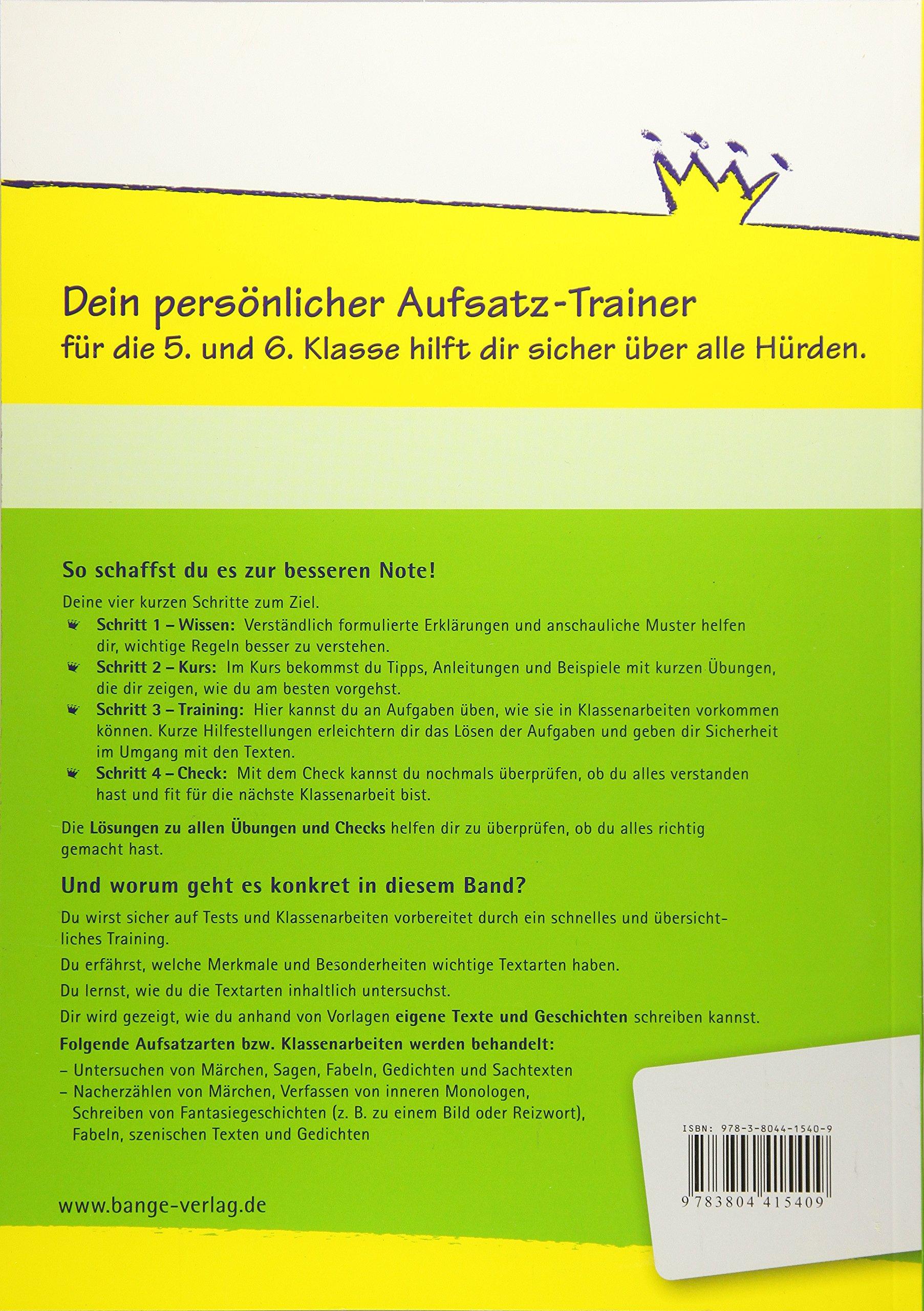 Aufsatz - Untersuchen und Gestalten: Märchen, Sagen, Fabeln ...