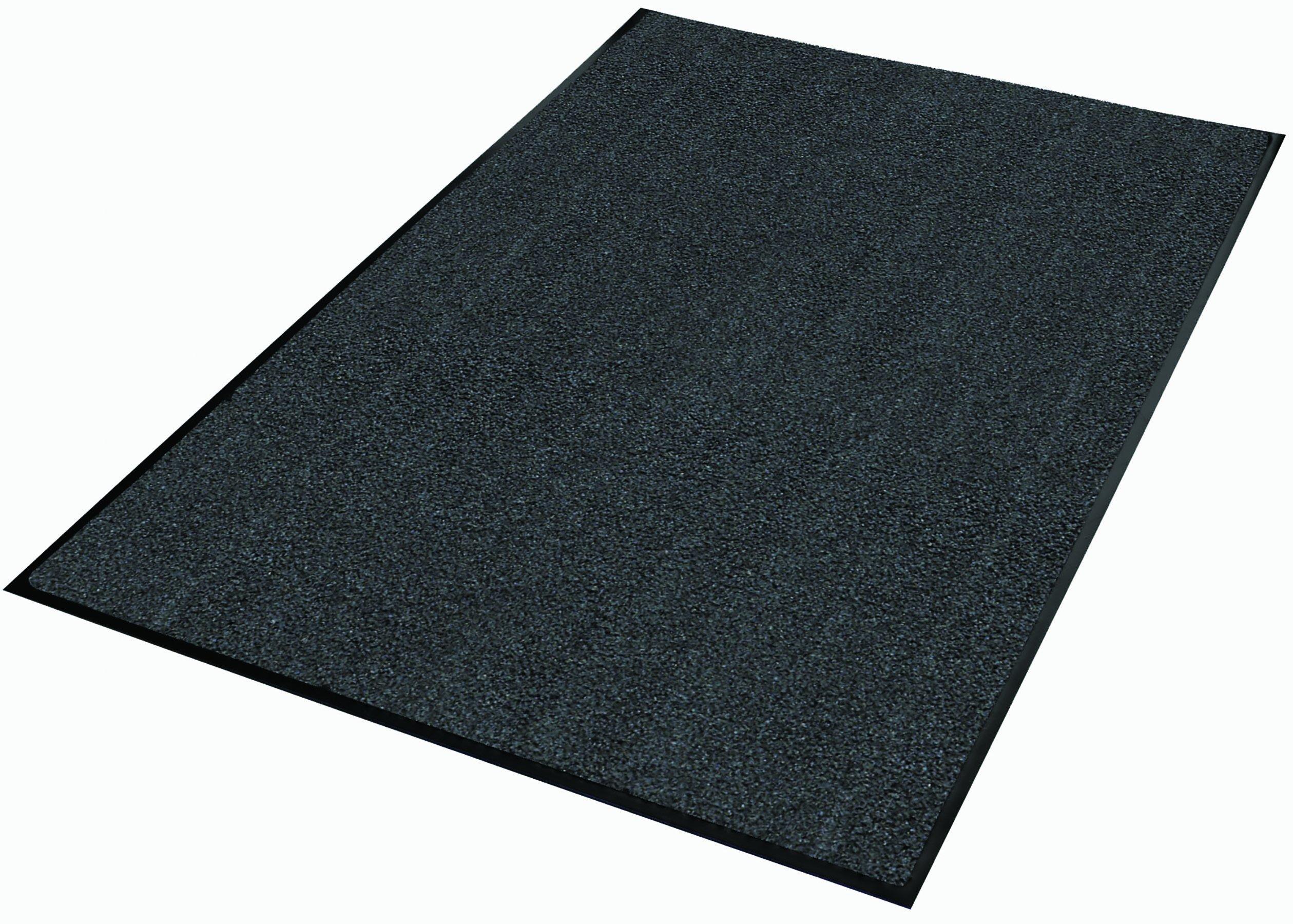 Guardian 94020330 Platinum Series Indoor Wiper Floor Mat, 2' x 3', Grey by Guardian
